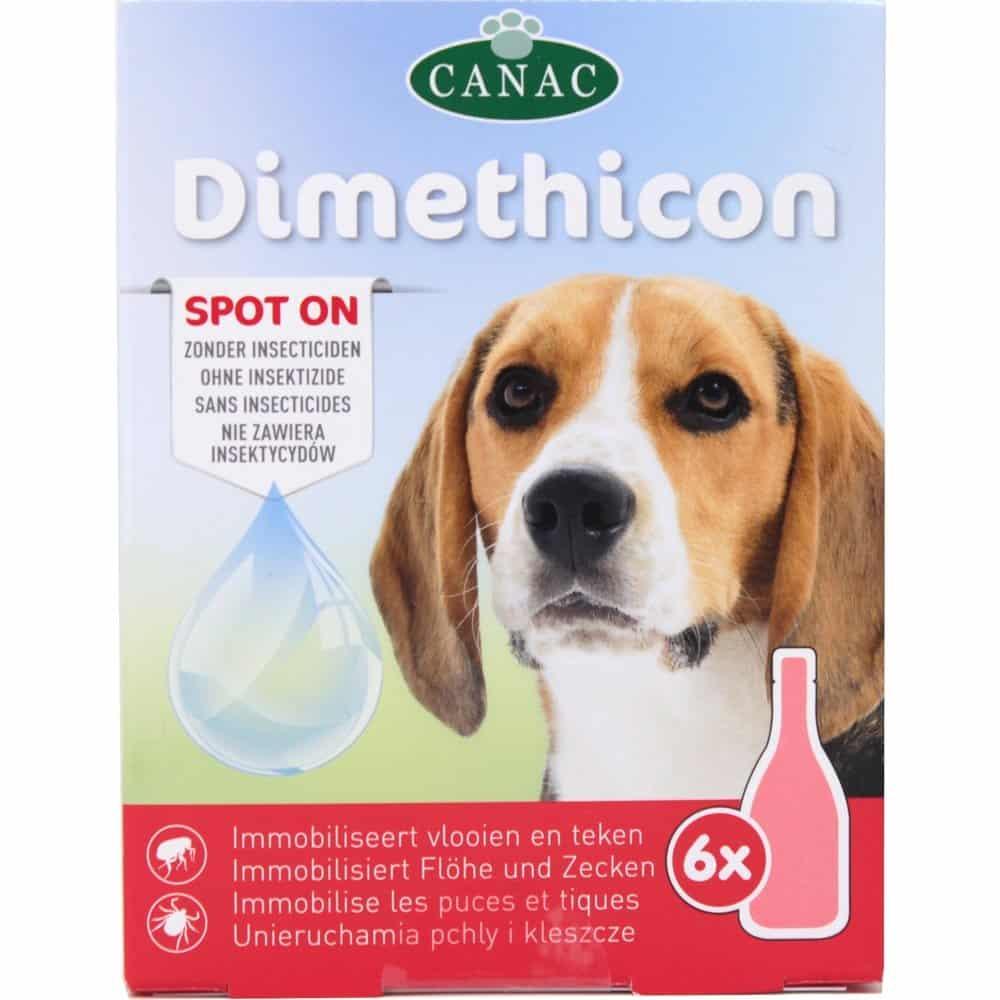 DIMETHICON -  Anti Tiques et Anti Puces pour chiens